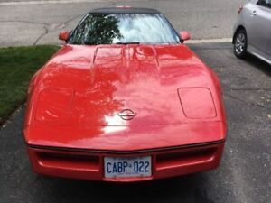 TARGA TOP CORVETTE / CERT