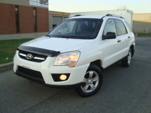 KIA 2009 SPORTAGE LX  4X4 AUTO NO RUST''ONLY ONE TAX''
