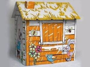 Happy Farm Cardboard Cubby House - Playhouse Kids Back to School Macquarie Park Ryde Area Preview