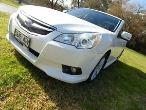 2010 Subaru Liberty B5 MY10 2.5i Lineartronic AWD White 6 Speed Constant Variable Sedan