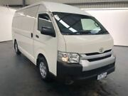2013 Toyota Hiace KDH221R MY12 Upgrade SLWB Glacier White 4 Speed Automatic Van Albion Brimbank Area Preview