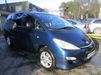 TOYOTA PREVIA 2.4 T SPIRIT VVT-I 7STR 5d AUTO 154 BHP (blue) 2003
