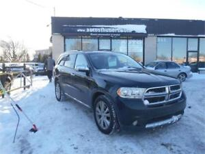 DODGE DURANGO CREW AWD 2011 ** 7 PLACES + NAVIGATION/GPS**