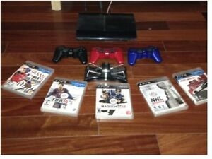 Console Sony PS3 (PlayStation 3) avec accessoires
