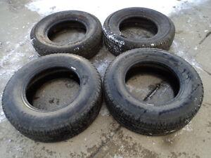 4 All Season Tires 225/70/15