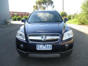 2009 Holden Captiva CG MY09 LX (4x4) Blue 5 Speed Automatic Wagon Hoppers Crossing Wyndham Area Preview
