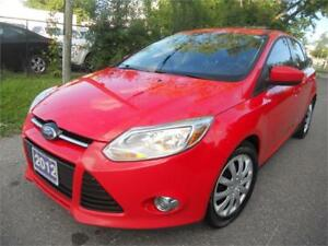 2012 Ford Focus SE  165 KMS Loaded  One Owner $5895