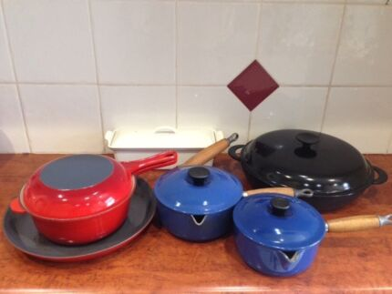 Le Creuset cookware ... bring out the French chef in you!
