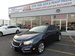 2015 Chevrolet Cruze 1LT CAMERA,BLUETOOTH NO ACCIDENTS CERTIFIED
