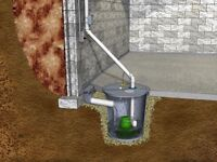 Sump pump and sump pit installation