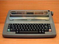 Electric typewriter £5 Sharp QL-210 electric typewriter.