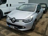 ****FOR PARTS****2015 RENAULT CLIO 1.2 75hp , 1.5 dci ENGINE ,GEARBOX,DASHBOARD,SATNAV,WHEELS,AIRBAG
