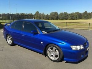 2004 Holden Commodore VZ SV6 Blue 5 Speed Auto Active Select Sedan Condell Park Bankstown Area Preview