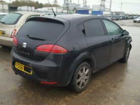 SEAT LEON 1.6 BSE BGU 2006-2010 BREAKING FOR SPARES TEL 07814971951 HAVE FEW IN STOCK