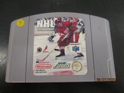 NHL Breakaway 99 Nintendo 64 N64 cartouche seule