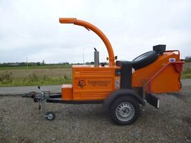 TIMBERWOLF TW150 HB WOOD CHIPPER *TOWABLE*