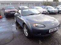 2006 (55reg) MazdaMX5 2.0 Convertible 2 Previous Owners £1995