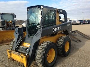 JOHN DEERE 328D SKID STEER 82 HP ONLY 1780 HOURS