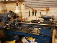 Boxford lathe with auto gearbox.