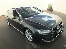 2010 Audi A5 8T Sportback 3.0 TDI Quattro Grey 7 Speed Automatic Hatchback Clemton Park Canterbury Area Preview