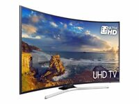 49' CURVED SAMSUNG 4K ULTRA HDR LED TV.2017 MODEL UE49MU6220. FREEVIEW HD. FREE DELIVERY