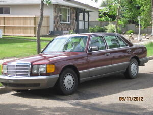 420sel Mercedes Benz Got to sell will let go for 2000 dollars! Strathcona County Edmonton Area image 2