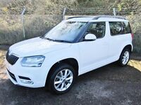 Skoda Yeti 2.0 SE TDi Turbo Diesel 5DR (white) 2014