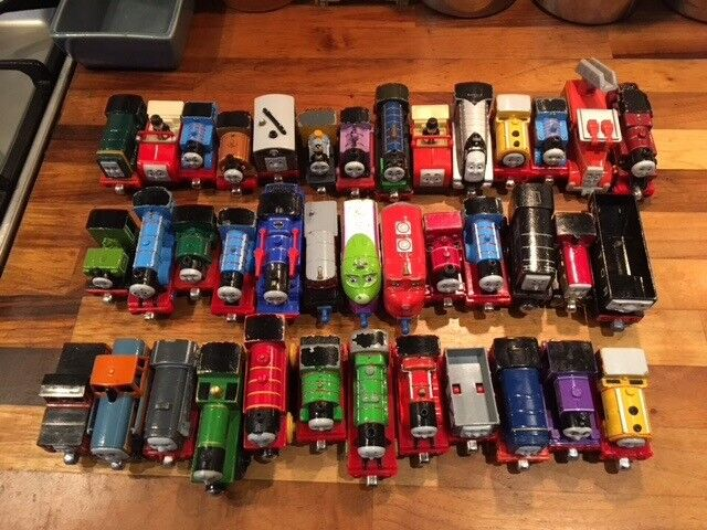 Thomas the Tank Engine trains and others