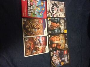 Random Game Cube and Wii games