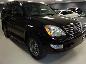 2009 Lexus GX 470. ULTRA PKG. NAVIGATION. DVD. REAR CAMERA.