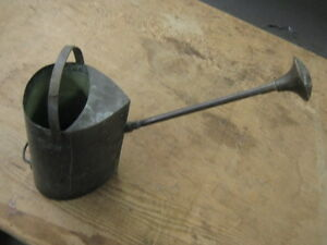 Copper Watering Can, Vintage Antique, Solid Craftsman Made