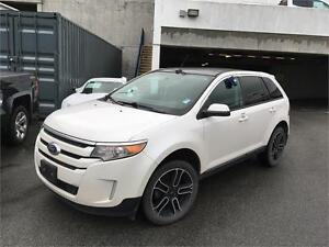 2013 Ford Edge SEL AWD white