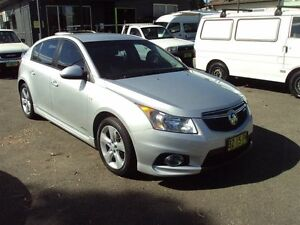2013 Holden Cruze JH MY13 SRi Silver 6 Speed Automatic Hatchback Punchbowl Canterbury Area Preview