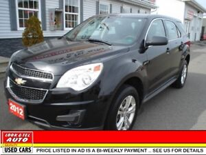 2012 Chevrolet Equinox LS $13995 financed price - 0 down payment