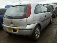 vauxhall corsa c silver breaking for spare parts