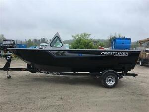 2017 Crestliner 1850 Commander and trailer, starting at $34,900