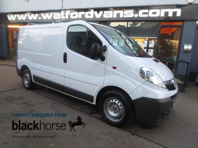 2011 Vauxhall Vivaro 2,7t 2.0TDCi 90ps L1 SWB *No VAT* Diesel white Manual