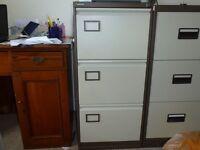 Metal Filing Cabinet (brand...Punchline)