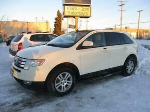 2008 FORD EDGE SEL AWD, HEATED SEATS, SAFETY & WARRANTY $7,950