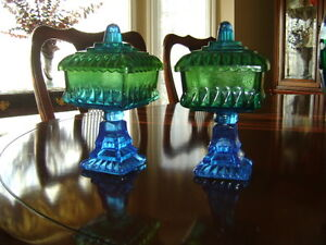 Two candy dishes