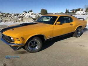 1970 Ford Mustang fastback **MACH 1 TRIBUTE** MUST SEE!!