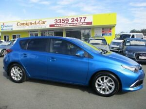 2015 Toyota Corolla ZRE182R Ascent Sport S-CVT Blue 7 Speed Constant Variable Hatchback Kedron Brisbane North East Preview
