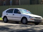 1997 Toyota Corolla AE102R CS-X Seca White 4 Speed Automatic Liftback Croydon Burwood Area Preview