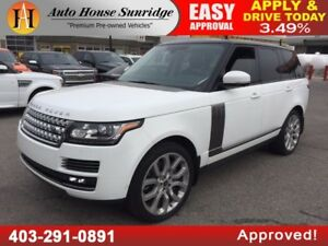 2014 RANGE ROVER HSE SUPERCHARGED NAVIGATION BACKUP CAMERA