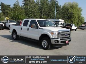 2015 FORD F-250 SUPER DUTY XLT CREW CAB SHORT BOX 4X4 LOADED