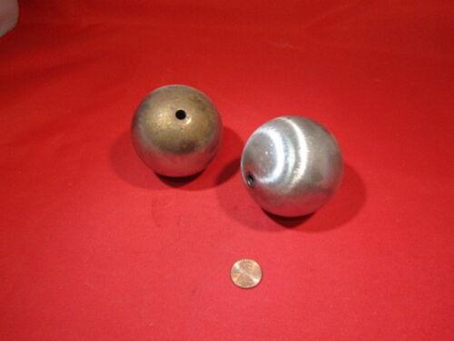 """Steel Hollow Sphere / Balls 2.50"""" Diameter, 2 Pieces"""