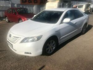 2008 Toyota Camry ACV40R 07 Upgrade Ateva White 5 Speed Automatic Sedan Woodville Park Charles Sturt Area Preview
