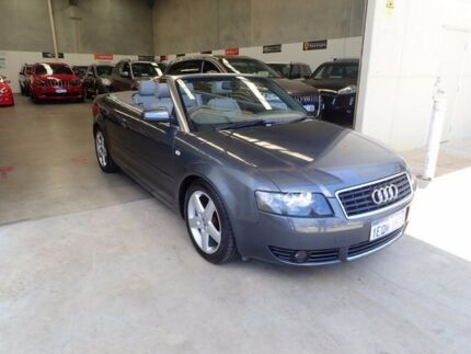 2004 Audi A4 B6 MY05 Multitronic Grey Metallic 1 Speed Constant Variable Cabriolet Wangara Wanneroo Area Preview
