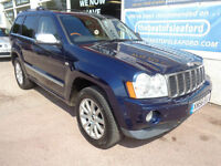 Jeep Grand Cherokee 3.0CRD V6 auto Overland 4x4 Last owner 10 years P/X