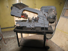Clark metal cutting band saw